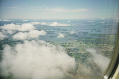archipelago from above