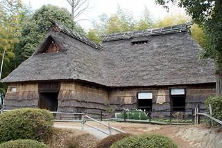 Chumon-zukuri (中門造りの古民家)