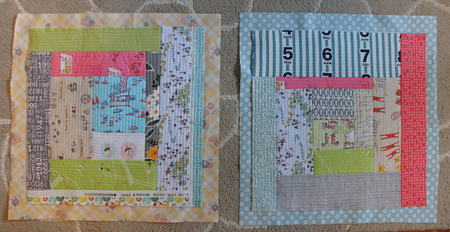 Scrappy Quilt as You Go Blocks
