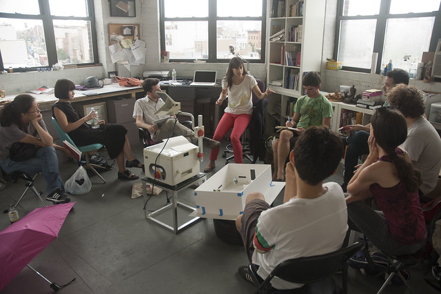 Jill Magid talks to New York Arts Practicum