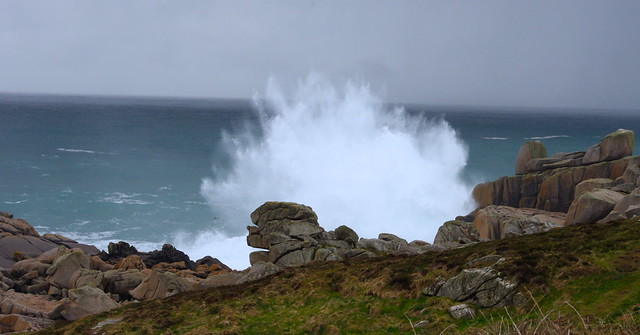 Crashing waves, Isles of Scilly, UK