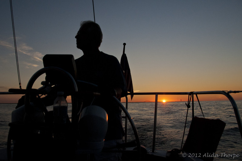 Sailing sunrise ©