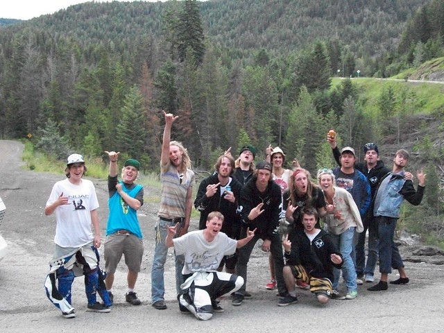 hitch hikers group shot