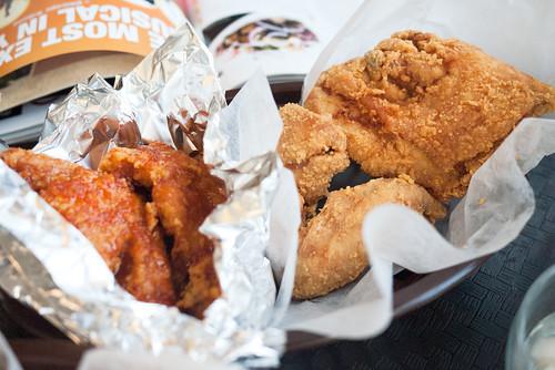 Half & Half @ Olive Chicken