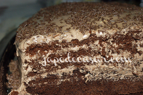 Torta Gelada de Chocolate