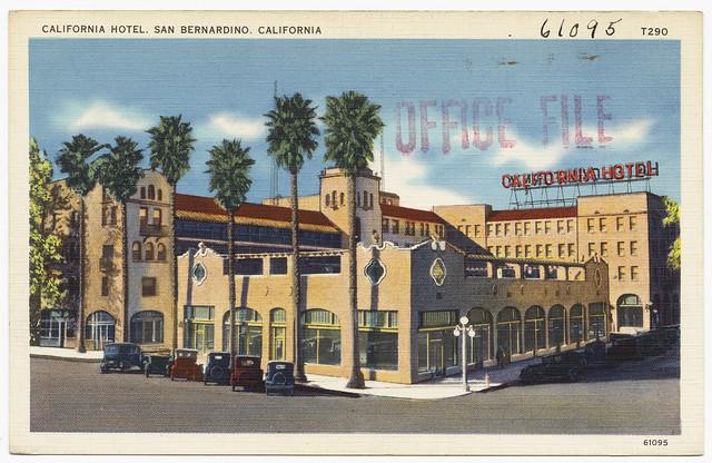 california hotel san bernardino california flickr. Black Bedroom Furniture Sets. Home Design Ideas