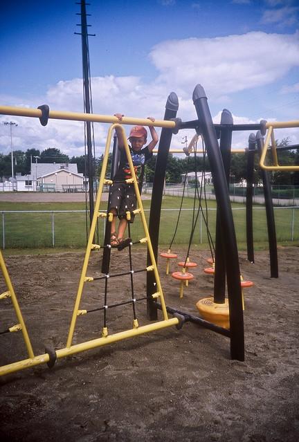 Axel et le parc étrange à Berthier-sur-mer