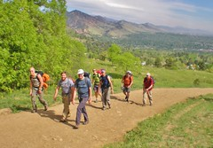 "CMC Boulder Basic Rock School Heading to ""Class"""