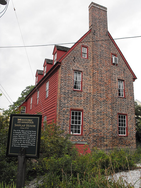 Old Shiplap House In Annapolis
