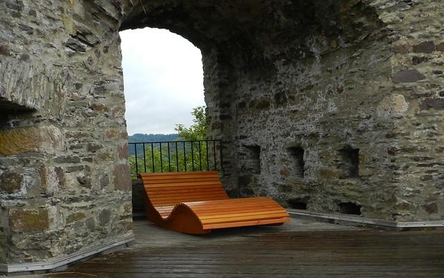 Relaxen auf der Burg