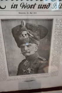 Field marshal in death's head hat