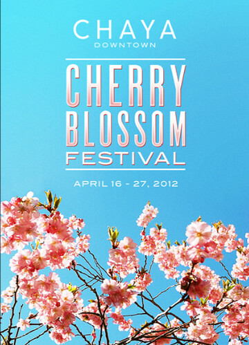 Chaya Downtown Cherry Blossom Festival