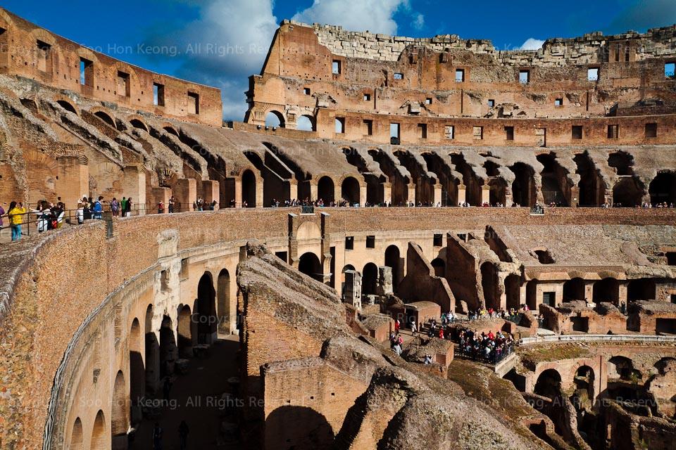 Colosseum (Coliseum) @ Rome, Italy