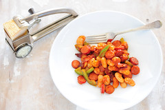 butterbeans with bacon & cabanossi-3