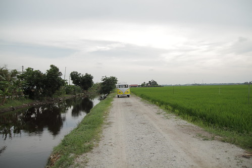 The Kombi at the paddy field
