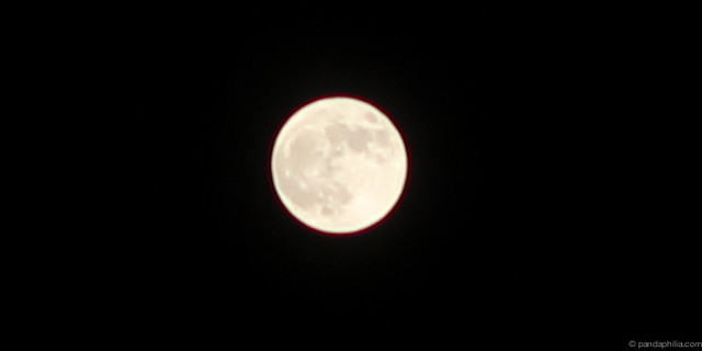 supermoon bright