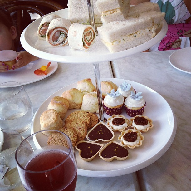 High Tea today