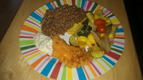 I made dinner by christopher575