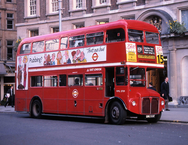 London Transport route 15B