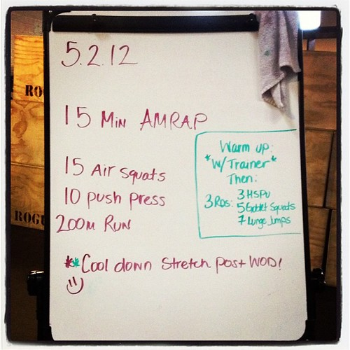 Hump day fun. #wod