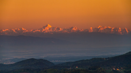 morning sky mountains alps nature colors sunrise colours view slovenia slovenija gora triglav limbarska