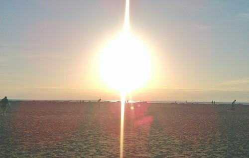 Mentor, Ohio Sunset on the Coast of Lake Erie