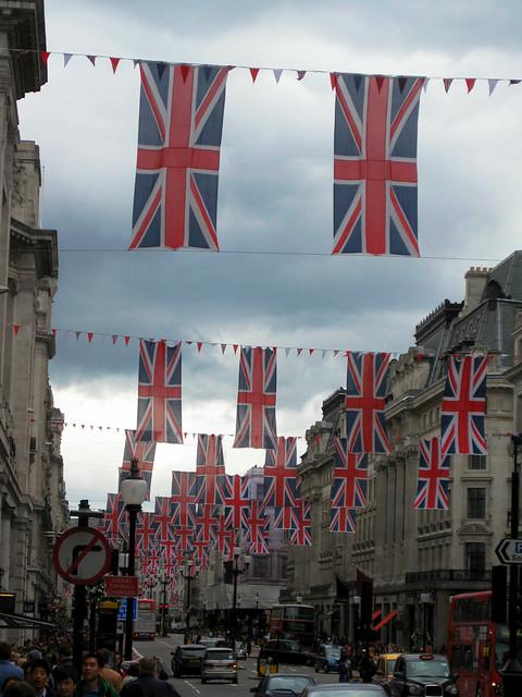 Jubilee Weekend London 2012