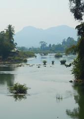 River near Khong Island
