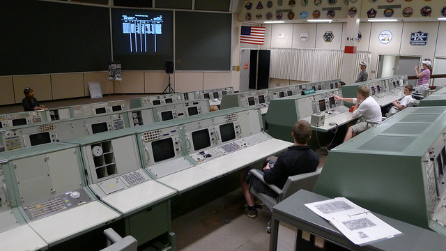 Apollo Mission Control Center