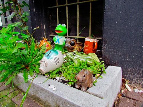Tuintje in het Kikkerstraatje