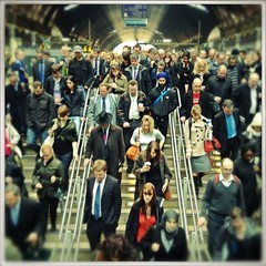 The Commute, Paddington Station