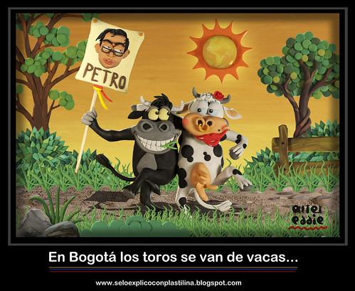 En Bogotá los toros se van de vacas... by alter eddie
