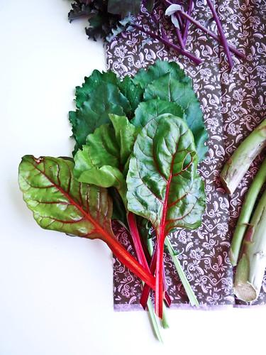 spring greens petite vegan quiche