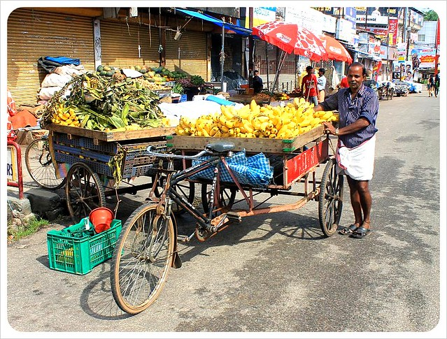 banana vendor in India