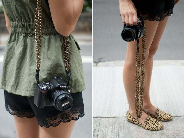 diy chain camera straps