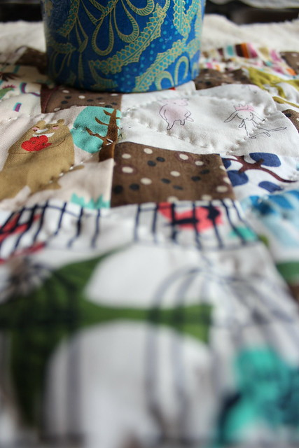 A Step Down quilting