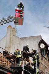 Nachwirkungen des Dachstuhlbrandes - 16.05.12