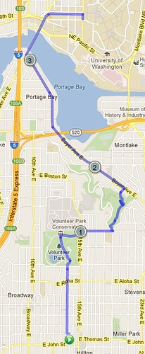 Today's awesome walk, 3.69 miles in 1:13 by christopher575