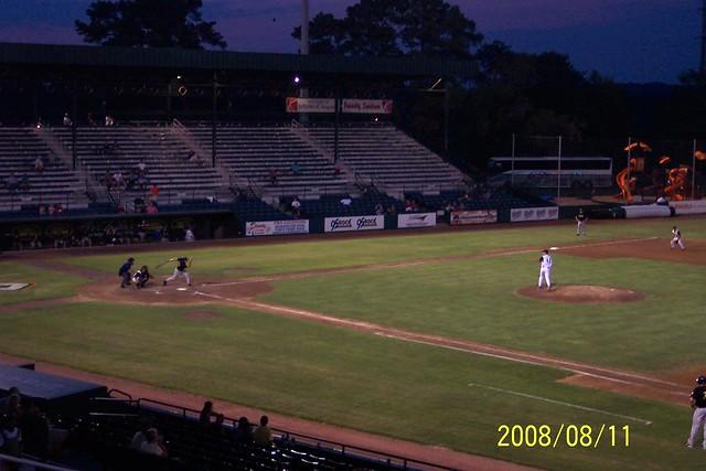 Lake Olmstead Stadium Augusta Ga 11 August 2008