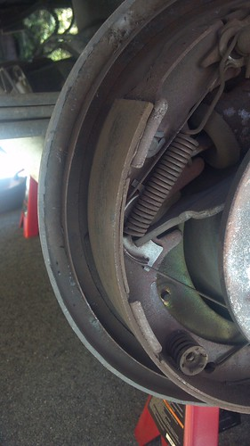 1999 F150 Rwd - Rear Drum Brake Shoe Thickness