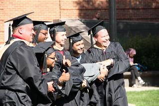 EMBA Graduates Celebrate