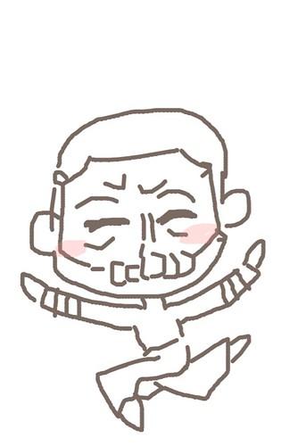 120526(2) - 聲優「恒松あゆみ」心血來潮畫出《Fate/Zero》所有角色的塗鴉、只有「久宇舞弥」發揮100%實力(笑) (17/18)