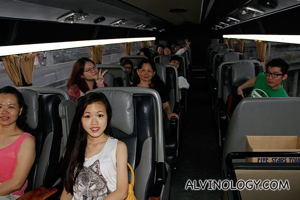 Bus ride to Genting