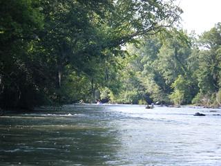 Broad River Paddling May 26, 2012 4-44 PM