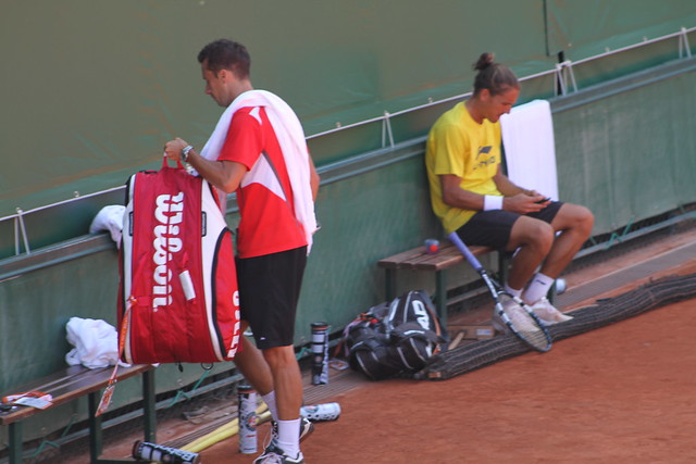 Philipp Kohlschreiber and Ruben Ramirez Hidalgo