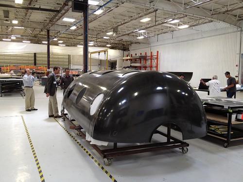 Talking to Enrico Palermo about WhiteKnightTwo carbon-fiber fuselage
