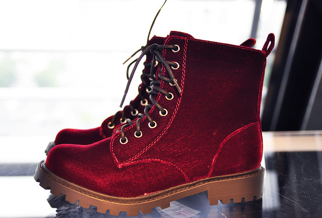 The Velvet Doc Martens