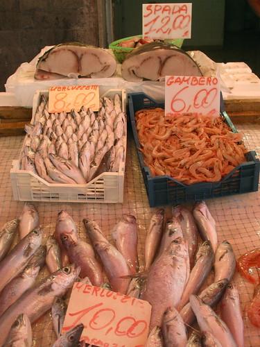Siracusa Market, Sicily, Italy