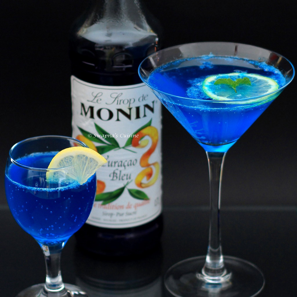 Swapna's Cuisine: Blue Lagoon Cocktail