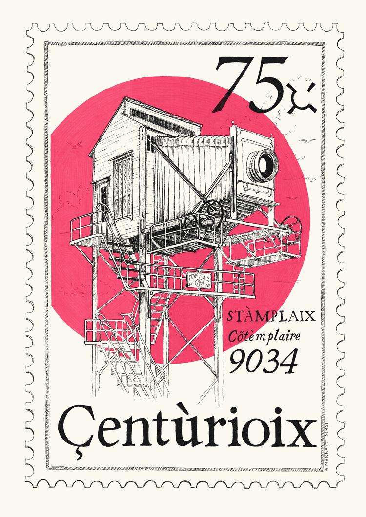 Centurioix Stamp